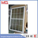 Vertikales Aluminium oben hinunter schiebendes Fenster