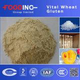 Qualitäts-bester Preis-lebenswichtiger Weizen-Gluten Vwg Nahrungsmittelgrad für Brot-Hersteller