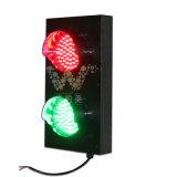 Feu de signalisation vert rouge personnalisé des parkings de 125mm DEL