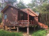 De Villa van het Blokhuis WPC van de luxe WPC Waterdicht met Goede Kwaliteit PrefabHuis
