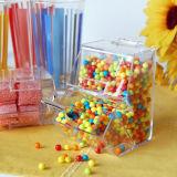 Dispensador de acrílico claro del caramelo del fabricante