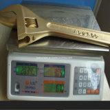 Не Sparkinig инструменты безопасности ключа Медный ключ латунные регулируемый гаечный ключ