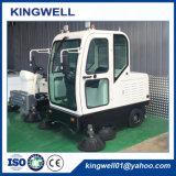 Three-Wheel cerrada la carretera eléctrica Sweeper (KW-1900F)