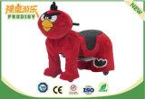 La diversión monta el coche eléctrico animal del montar a caballo del juguete eléctrico de la felpa