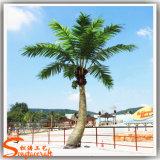 Palma falsa artificiale della noce di cocco della vetroresina della decorazione del giardino