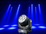 7*40W RGBW 4in1 LEDのズームレンズのビーム洗浄移動ヘッド