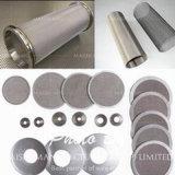 El filtro de malla de alambre de acero inoxidable para el tubo del filtro de agua