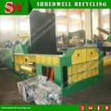 Máquina de embalaje de la chatarra hidráulica para reciclar las latas inútiles del acero/de aluminio
