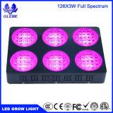 X-Crecer el LED crecen el espectro completo de la luz ligera de la planta para las plantas de semillero que el hidrocultivo crece luces de las plantas 126PCS/LED3w 5292lm