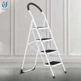 7кг 4 шаг складные стальные емкости лестницы 150 кг