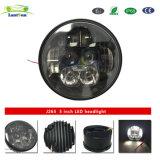 Faro massimo minimo d'argento del motociclo LED del fascio 5inch 50W di J265 IP67 DC10-30V con la posizione LED