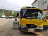 Machine de nettoyage du système d'échappement pour moteur de voiture