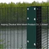 358 Fil soudé de clôture avec revêtement en poudre et galvanisé