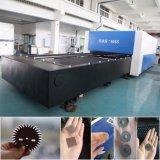 Máquina de estaca do laser do cortador do laser do metal da fibra 1500*3000/aço inoxidável