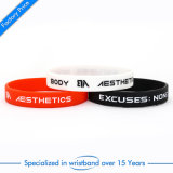Wristband di gomma stampato alta qualità