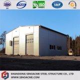 Vertente Prefab do armazenamento da fábrica da construção da construção de aço da alta qualidade