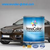 Altération superficielle par les agents du véhicule résistant tournant la peinture acrylique
