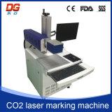 Máquina quente da marcação do laser do CNC do CO2 do estilo 10W para o plástico
