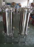 Cárter del filtro multi del cartucho del acero inoxidable del sistema del RO del agua del filtro industrial de la filtración