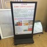 Свободно стоящая вертикаль пола 2017 рекламируя светлую коробку