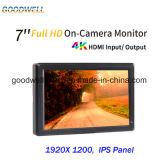 Entrada / salida HDMI Montaje de la cámara 7 pulgadas TFT LCD