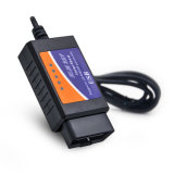 Elm327 V1.5 WiFi / Bluetooth / USB OBD2 Outils de diagnostic Scanner de diagnostic en plastique Can-Bus