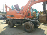 Verwendeter Doosan Dh150W-7 Dh140W-7 Rad-Exkavator