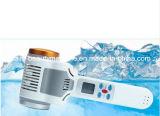 Instrument de thérapie de beauté de la glace maison chaude et froide Contractive hammer hammer lumière bleue d'importation de pores de la lumière rouge Instrument de glace