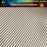Púrpura/tela teñida de la raya de los hilados de polyester de la tela cruzada de Brown para la guarnición de la ropa (S155.184)