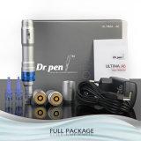 Wholsela Fabricación Dr. pluma A6 inalámbrica Derma sello pluma eléctrica con 2 baterías