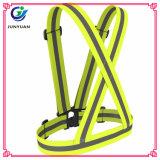 Cintura de alta visibilidade 100% poliéster Fluturador étnico fluorescente