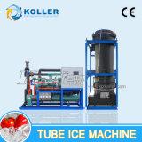 Máquina de hielo grande del tubo para el vehículo 10tons de Fresco-Custodia