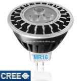 lâmpada do diodo emissor de luz MR16 do CREE 5W para dispositivos elétricos de iluminação ao ar livre