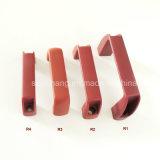 China fábrica de plástico rojo manija del guardarropa