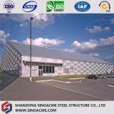 Stahlbauhandelsgebäude für Tennis-Mitte