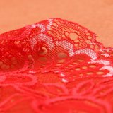 Ткань Шнурка Флористической Конструкции Химически для Одежды