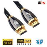 Cavo di rendimento elevato 4k 2160p HDMI con Ethernet, 3D, 60p