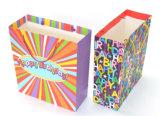 Bolsa de papel modificada para requisitos particulares del regalo del feliz cumpleaños