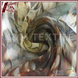 100%の絹が付いているジョーゼットよい縦の花の印刷された絹のファブリック
