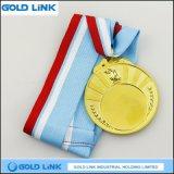 Il premio olimpico di sport della medaglia di oro dell'incisione della torcia perfezionamento la medaglia del ricordo