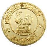 Kundenspezifische Gussteil-Schwarz-Nickel-Decklack-Münzen für Andenken (xd-36)