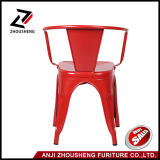 Modern Cafe Metal Tolix Cadeira com braço Zs-T-08