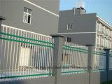Haohan 백색 우아한 산업 주거 안전 정원에 의하여 직류 전기를 통하는 강철 담 18