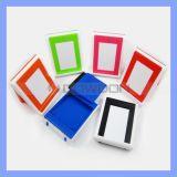 Universalminifaltende Schreibtisch-Standplatz-Halter-Plastikaufnahmevorrichtung für Handy iPad Tabletten
