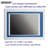 PC industriel de panneau de contact de pouce IP65 de 2*LAN& 6*COM 10.4