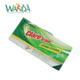 Sostener la pista de la esponja de la limpieza para las pistas de fregado de la esponja del uso de la cocina