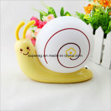 Cute Energy Saving USB Rechargeable Kids Snail LED Night Light