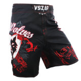 Muay Thai Fight Shorts MMA Grappling Kick Boxing Short para adulto
