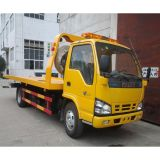 600p 4X2 de Vlakke Vrachtwagen van Wrecker van het Bed LHD Isuzu
