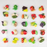 Ímãs Eco-Friendly do refrigerador da forma vegetal verde (GV-716)